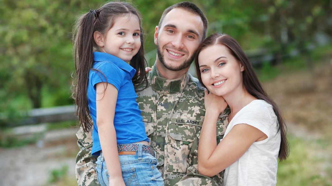 soldier family home