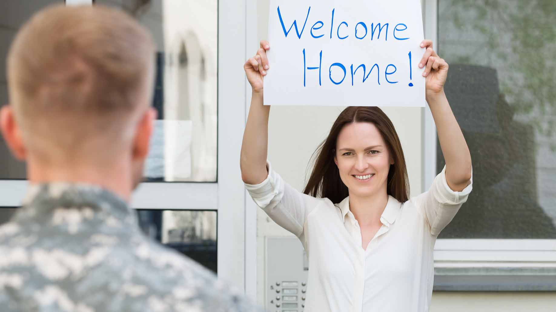 soldier welcome home
