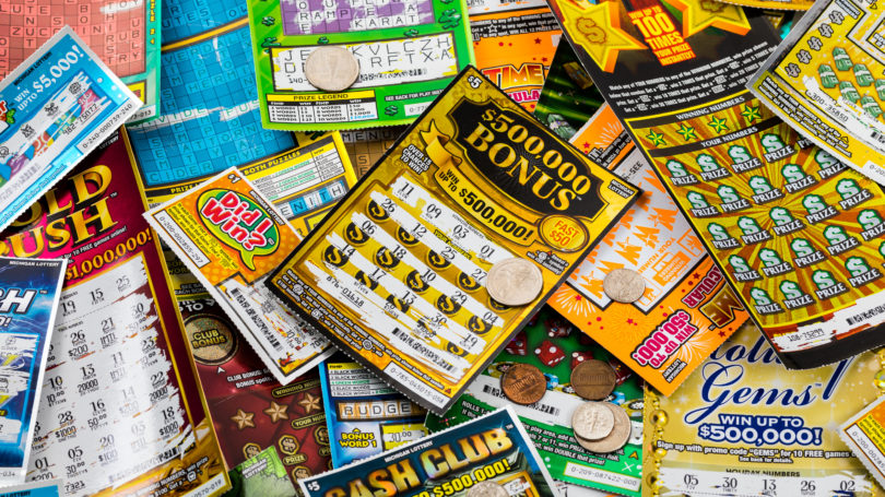 California State Lottery Tickets