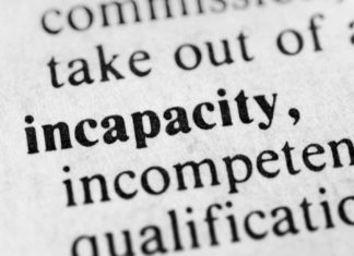 incapacity definition