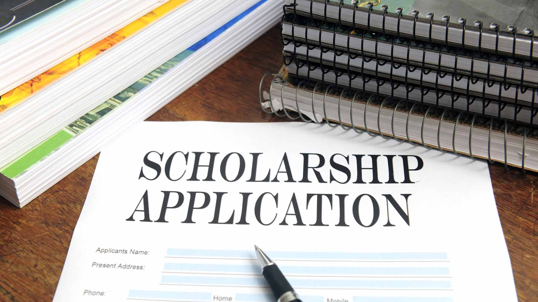 scholarship application for college