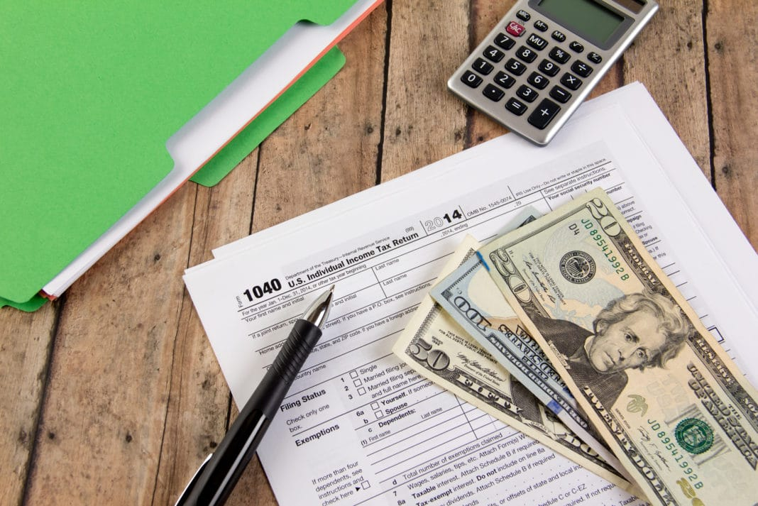 Filing Taxes Refund Table
