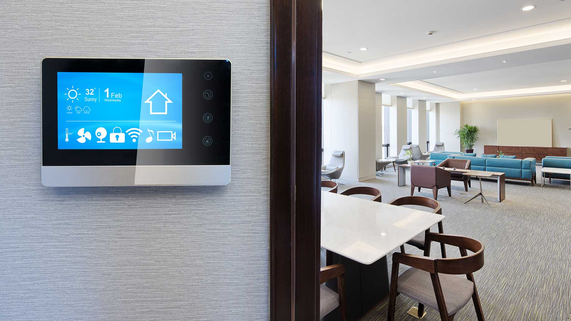 smart screen thermostat