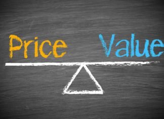 price value scale