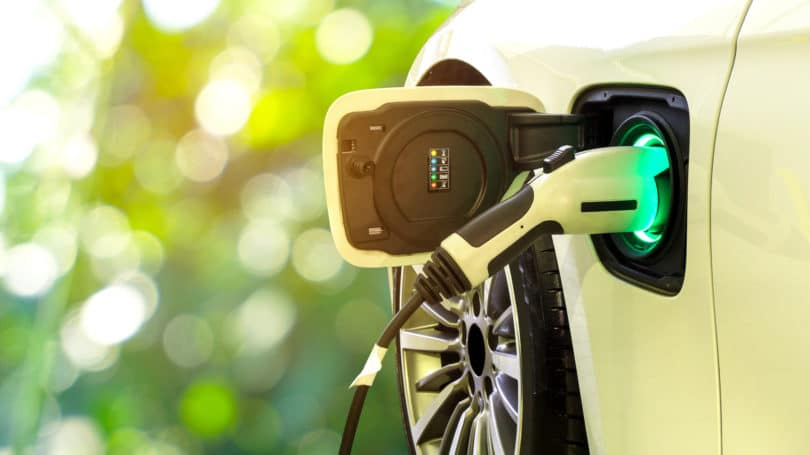 Charging Electric Car Nozzle
