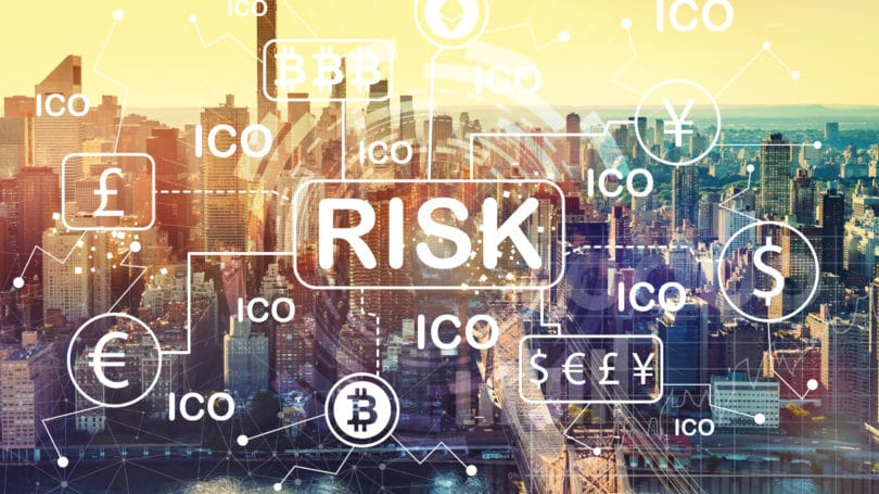 Ico Cryptocurrency Risk Cityscape