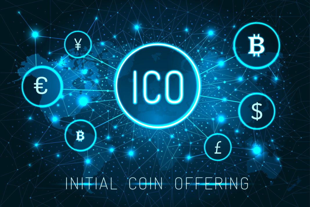 Cryptocurrency initial coin offering ico