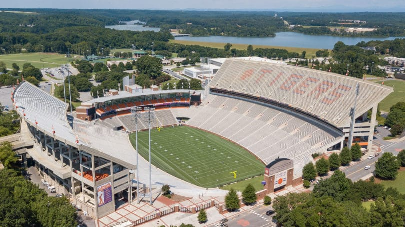 Clemson South Carolina University Football Field