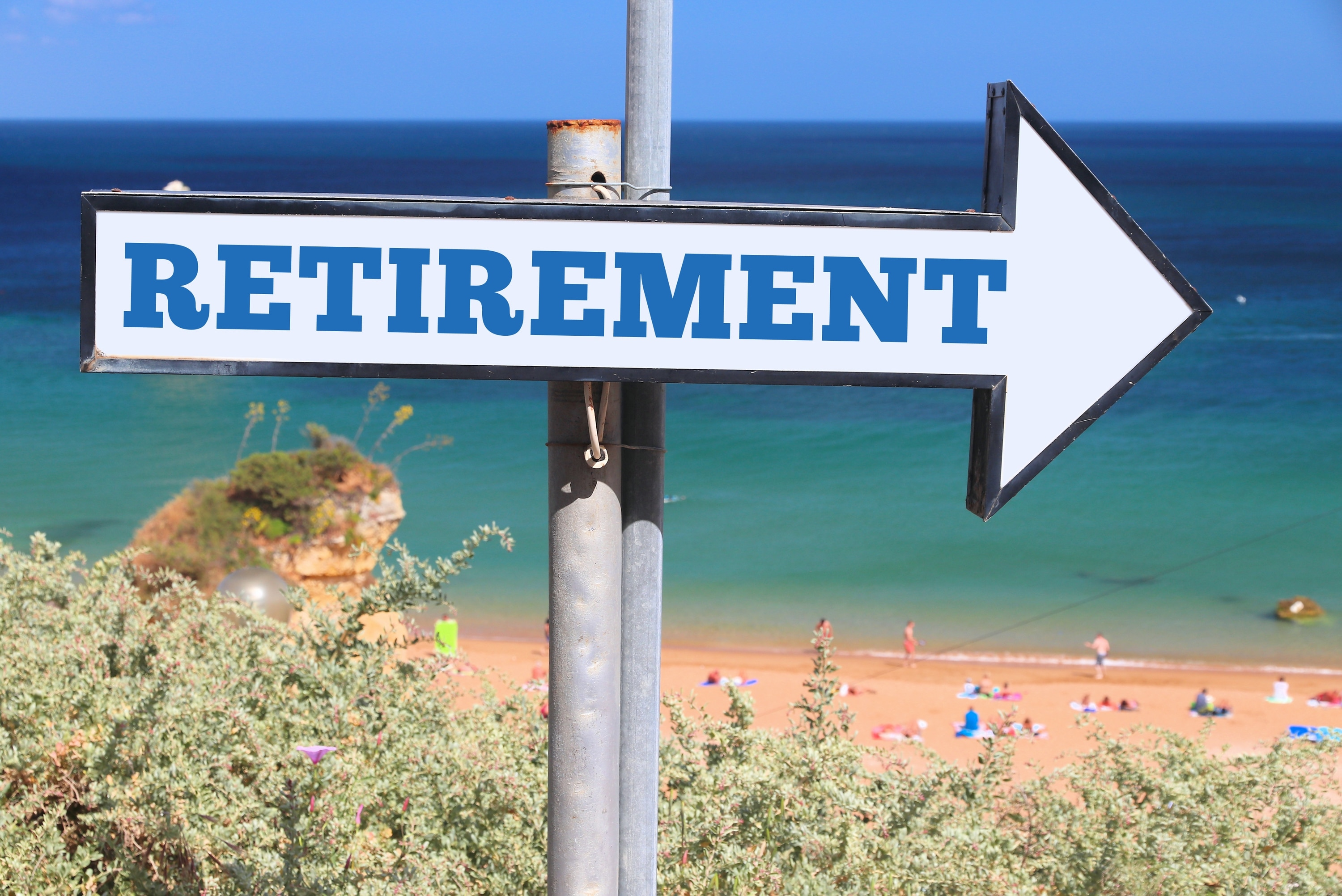 retirement retire beach places cities states sign planning money plan moneycrashers word income roadmap secure retired google towns state concept