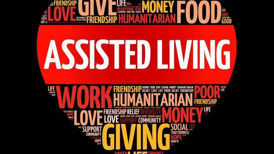 Assisted Living Heart Words
