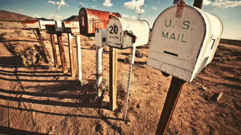 Establish Mail Forwarding