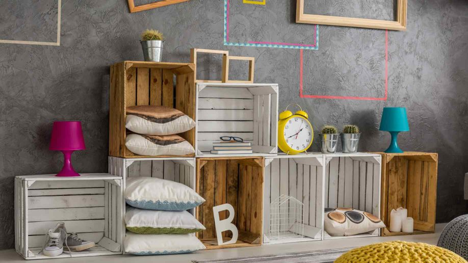 diy made wooden pallets