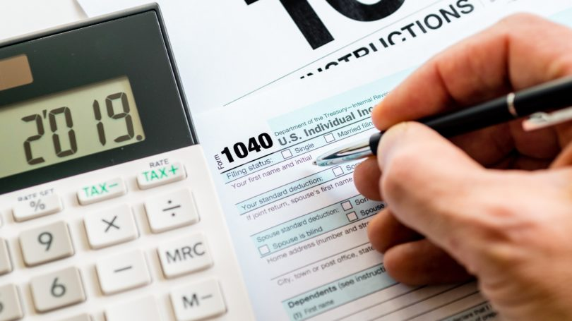 1040 Form Status Calculator Tax