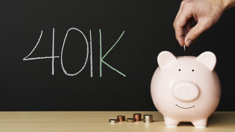 401k Plan Piggy Coins Retirement