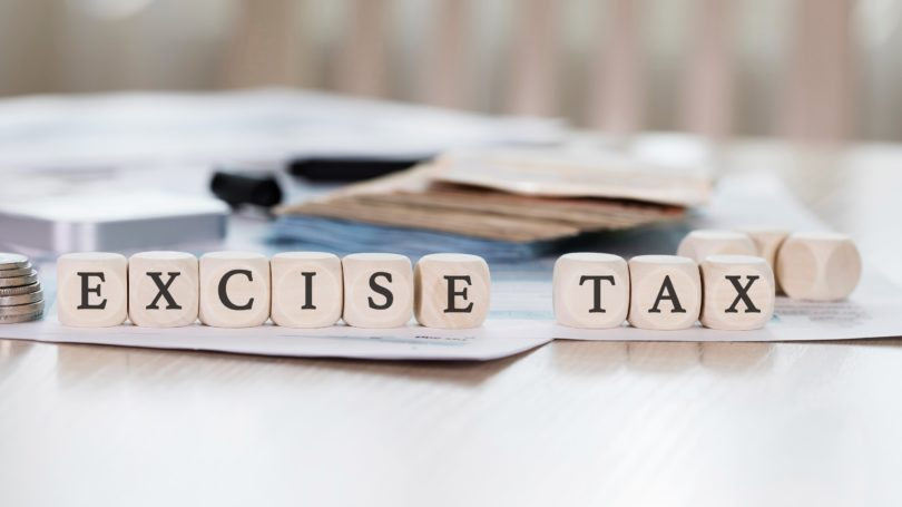 Excise Tax Letters Blocks