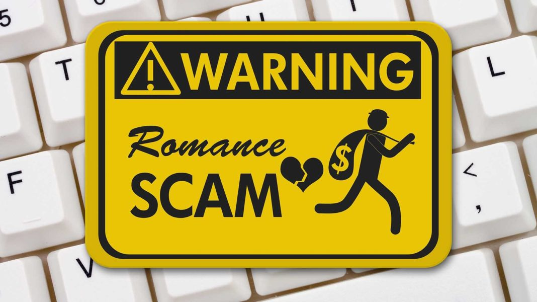 How to perform online dating scam