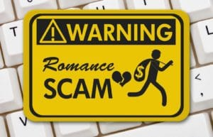 romance scam warning