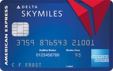 american express blue delta skymiles credit card
