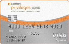 choice privileges visa signature card