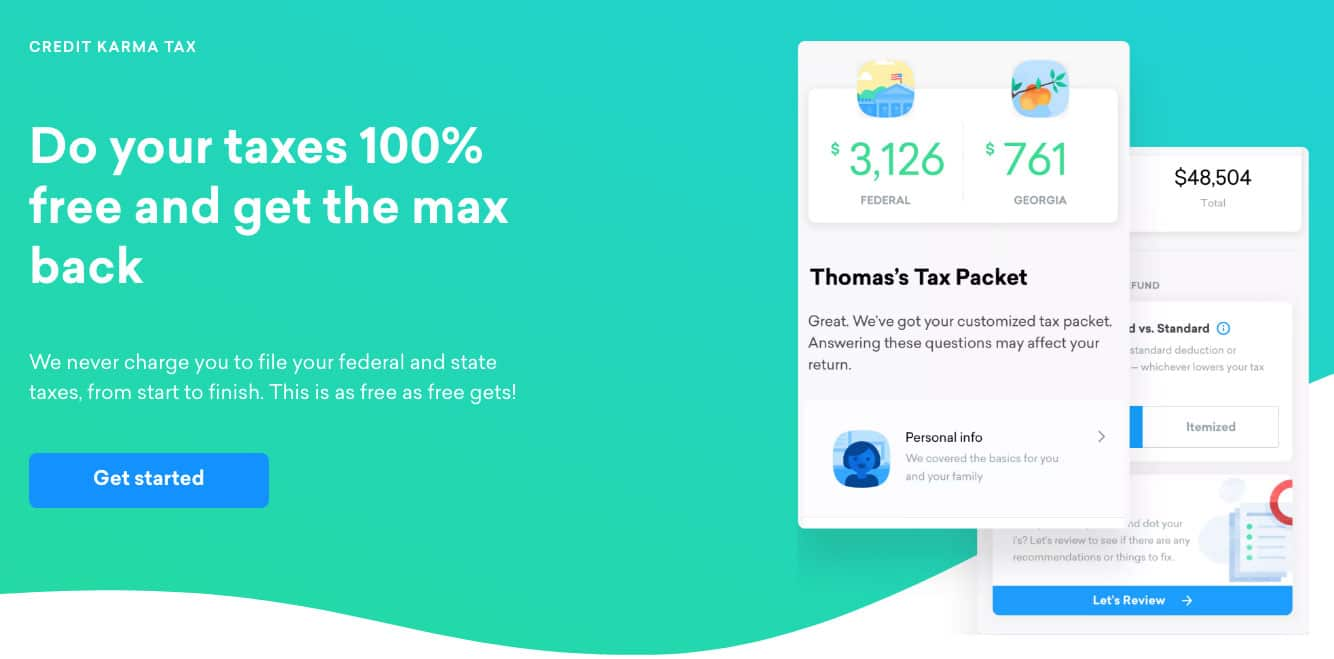 credit karma tax screenshot