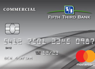 fifth third bank commercial credit card