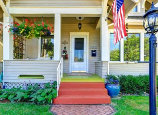 home porch curb appeal