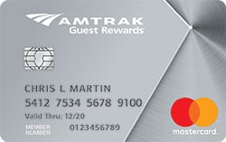 amtrak rewards platinum mastercard