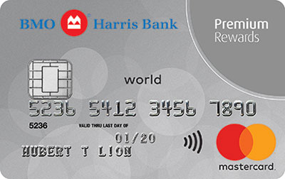 bmo harris bank premium rewards mastercard