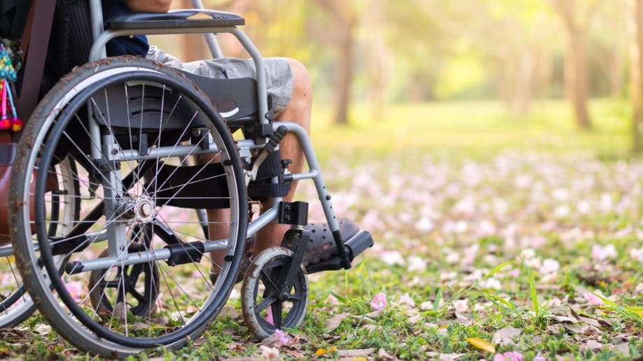 Caring For Elderly Wheel Chair Outdoors Grass : water chair aged care - Cheerinfomania.Com