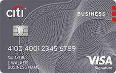 citi anywhere visa business card