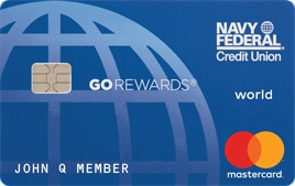 navy federal credit union go rewards card