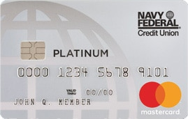 navy federal credit union platinum card