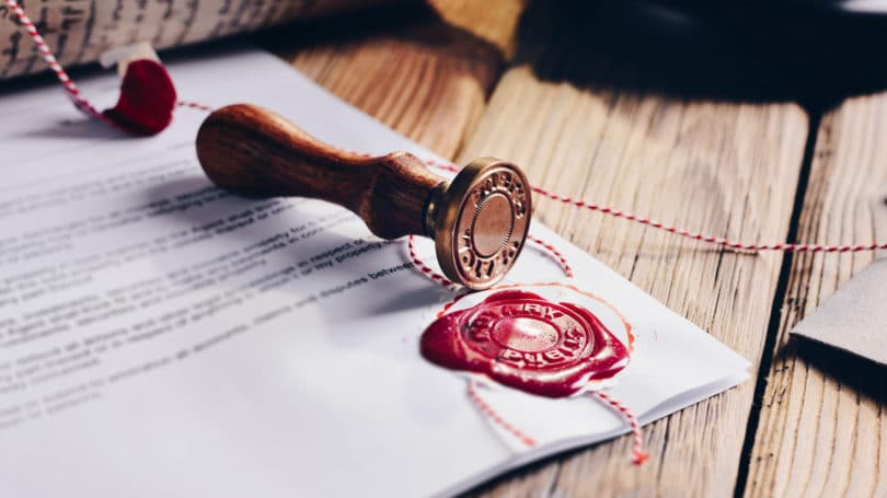 Notary Stamp Documents