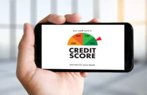 Credit Score Phone Scale