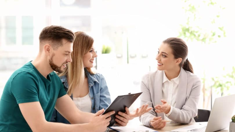 Financial Planner Talking With Couple