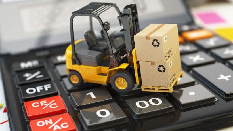 Shipping Cost Calculator Fork Lift Boxes