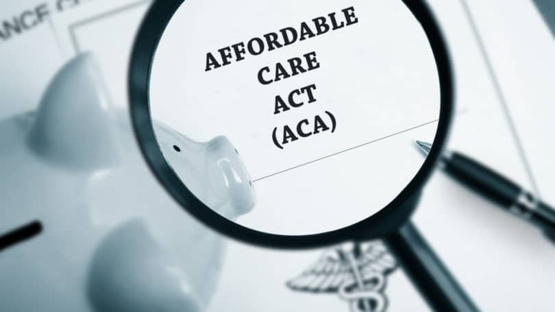 Affordable Care Act Magnifying Glass Piggy Bank