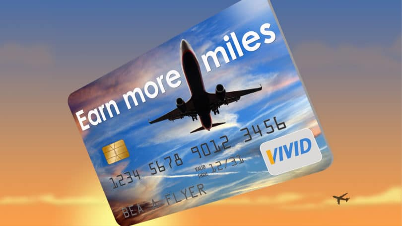Credit Card Rewards Miles Sunset Airplane