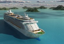 Cruise Ship Ocean Islands Sea