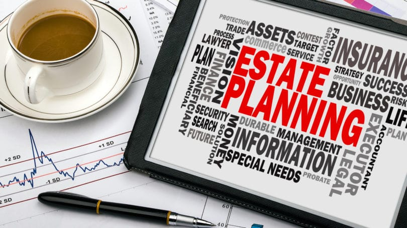 Estate Planning Will Tablet Pen Coffee