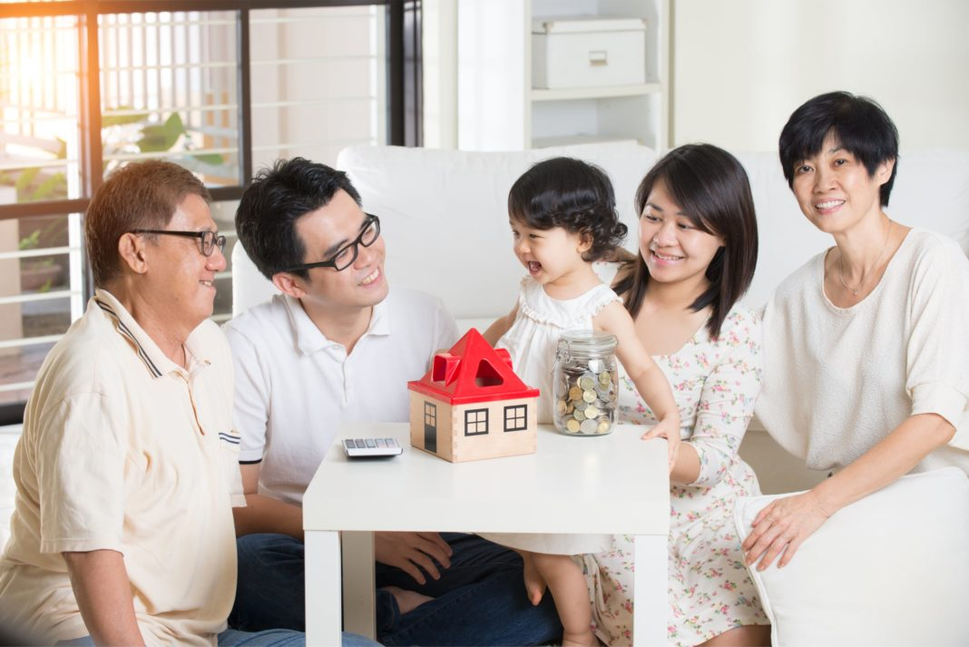 Family Finance Discussion Savings Home Financial Planning Estate