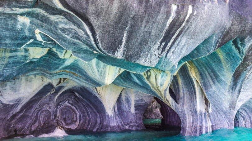 Patagonia Chile Marble Cave