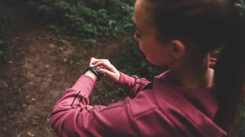 Calorie Tracker Exercise Smart Watch Outdoors