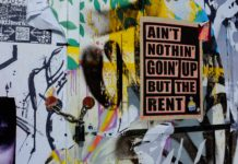 High Rent Vandalism Street Art Urban City