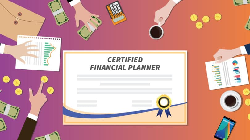 Certified Financial Planner Graphs Multiple People Money Graphs