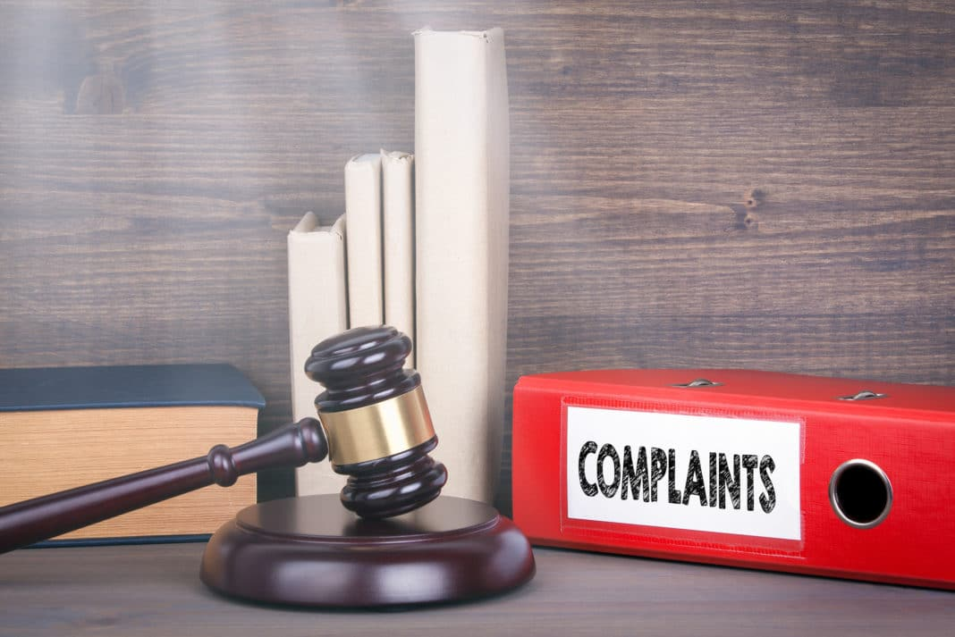 Complaints Gavel Regulations Law And Justice