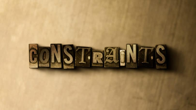 Constraints Letters Gold