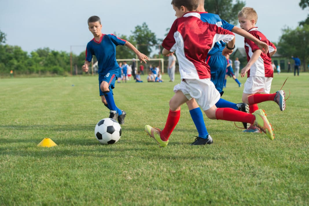 Kids Play Organized Sports