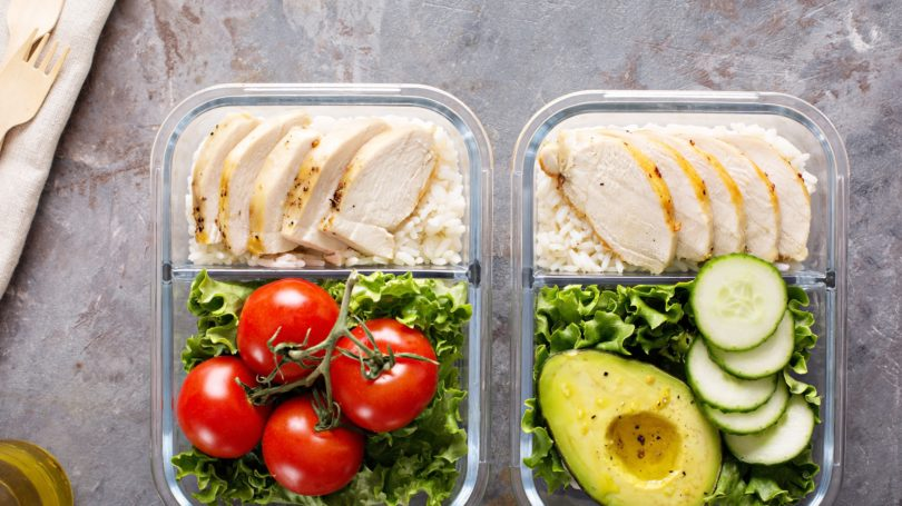 Meal Prep Tupperware Healthy Meals