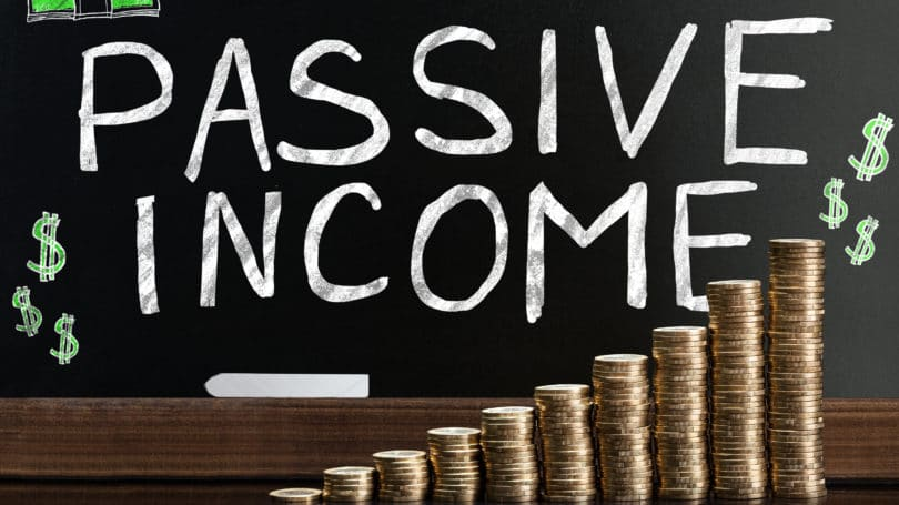 Passive Income Coins Stacked Growth Accumulation